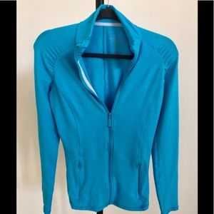 Lilly Pulitzer Luxletic M turquoise sport  jacket